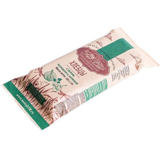 Хлебцы «С луком, чесноком и зеленью»