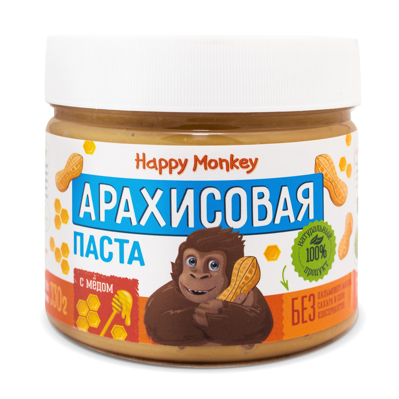 Арахисовая паста с мёдом new