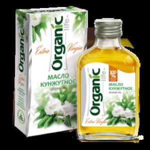 Масло кунжутное Organic 100 мл