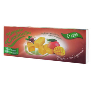 Конфеты желейные манго-маракуйя