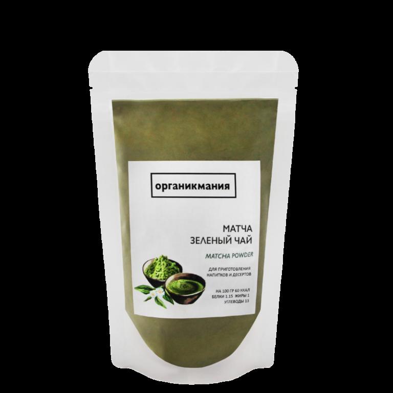 Зеленый чай Матча (Маття) ОРГАНИКМАНИЯ