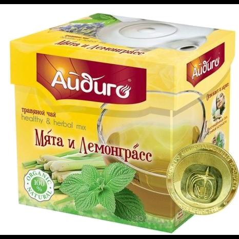 """Травяной чай Мята и лемонграсс """"Айдиго"""""""