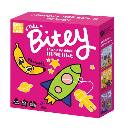 Безглютеновое печенье Банан Bitey