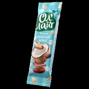 Батончик Ол'Лайт Шоколад & Кокос