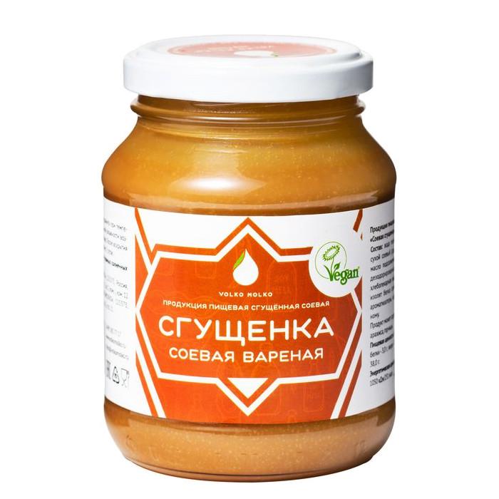 Сгущёнка соевая вареная Volko Molko