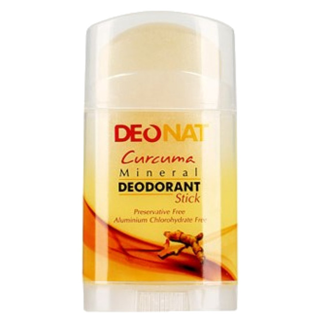 Натуральный минеральный дезодорант DeoNAT с куркумой