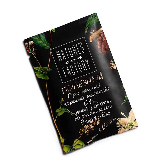 Темный шоколад с гречишным чаем