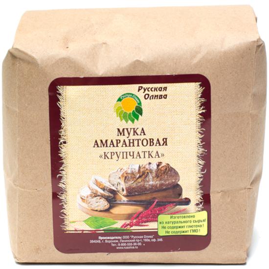 Мука амарантовая крупчатка «Русская олива», 1 кг