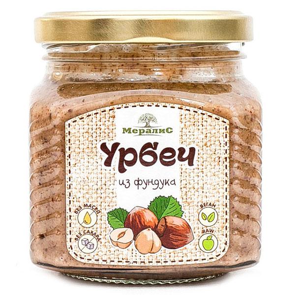 """Урбеч из ядер фундука """"Мералис"""""""