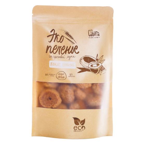 Эко-печенье кокос и шоколад