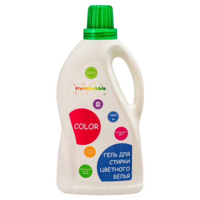 Экологичный гель для стирки цветного белья