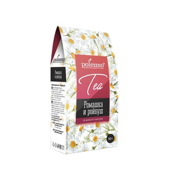 Ромашковый чай с ройбушем Polezzno 30 гр