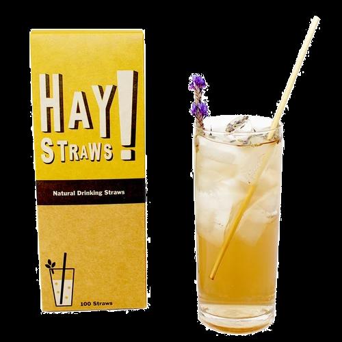 Трубочки коктейльные из стеблей пшеницы HAY