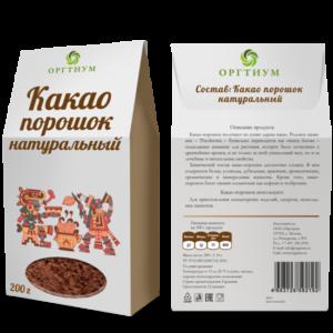 Какао порошок натуральный 200 гр