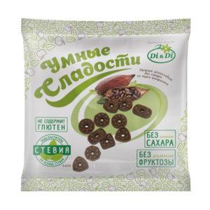 Печенье «Умные сладости» Шоколадное без сахара