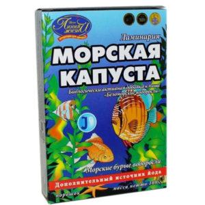 Морская капуста (ламинария), 100 гр.