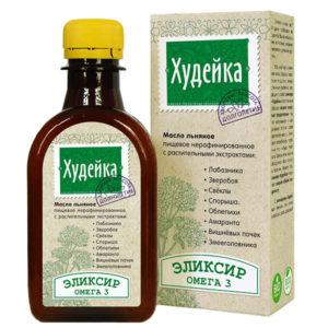 """Льняное масло-эликсир """"Худейка"""""""