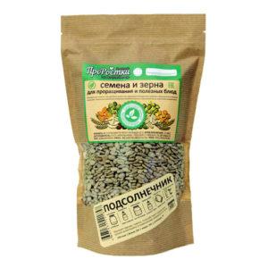 Семена подсолнечника для проращивания, 500 гр